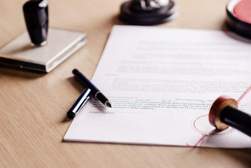 Come fare testamento e quanto costa